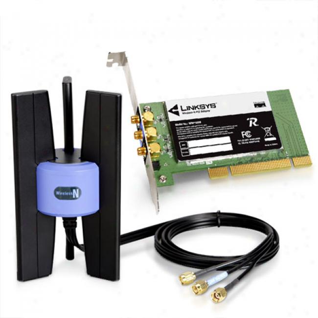 Get help with Linksys WMP54G, Wireless-G PCI Adapter - update, set-up, I ju